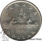 Canada: 1951 $1 MS63