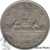 Canada: 1951 $1 SWL EF40