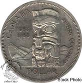 Canada: 1958 $1 EF40