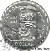 Canada: 1958 $1 MS62