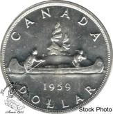 Canada: 1959 $1 MS62