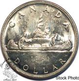 Canada: 1961 $1 MS62