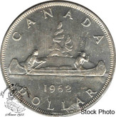 Canada: 1962 $1 MS60