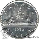 Canada: 1962 $1 MS62