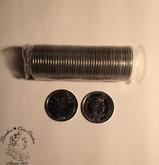 Canada: 2016 25 Cent Caribou Original Roll (40 Coins)