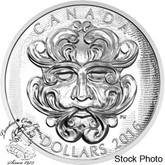 Canada: 2016 $25 Grotesque Foliated Green Man Silver Coin