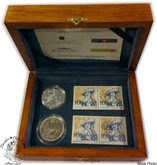 Canada: 2004 400th Anniversary of the First French Settlement in North America Coin and Stamp Set