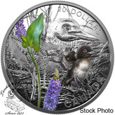 Canada: 2016 $20 Baby Animals - Common Loon Silver Coin