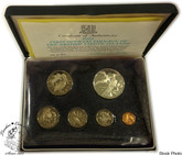 British Virgin Islands: 1973 First Official Coinage Proof Set