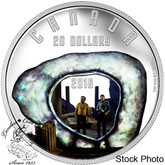Canada: 2016 $20 Iconic Star Trek Scenes The City on the Edge of Forever 1 Oz Silver Coin