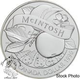 Canada: 1996 $1 200th Anniversary John McIntosh BU Silver Dollar Coin