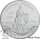 Canada: 1998 $1 125th Anniversary Royal Canadian Mounted Police Proof Silver Dollar Coin