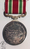 Ontario Provincial Police Long Service And Good Conduct Medal