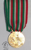 Italy: 50th Annio WWI 18k Medal