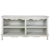 French Double Bookcase: Provence Blue
