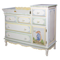 French Changer and Tray: Enchanted Forest