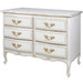 Gabriella Chest Finish: Versailles Crème Upgraded Knobs: Marie Pulls