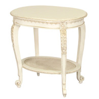 Sandrine Table: Versailles Creme