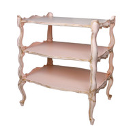 Tiered Table: Versailles Pink
