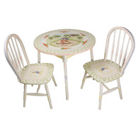 Round Play Table and Chair Set: Enchanted Forest
