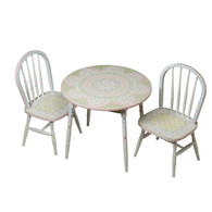 Round Play Table and Chair Set: Serendipity