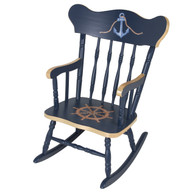 Child's Rocking Chair: Nautical