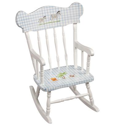 Child's Rocking Chair: Safari