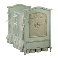 Cherubini Crib Finish: Versailles Blue