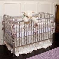 Jenny Lind Crib: Metallic Silver