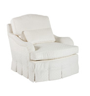 Angelica Swivel Glider: Angelica