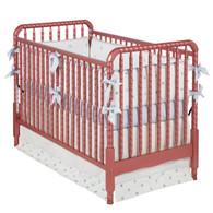 Jenny Lind Crib Cranberry Mist