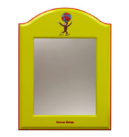 ARCHED MIRROR Curious George Yellow