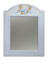 ARCHED MIRROR Cherubs