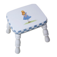Stool Motif: Alice in Wonderland