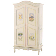 French Armoire: Nursery Rhymes