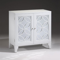 WHITE LACQUERED CHEST