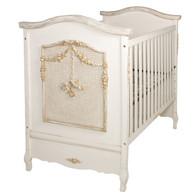 Cherubini Crib Finish: Versailles Creme