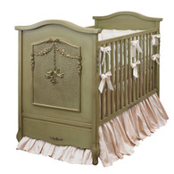 Cherubini Crib Finish: Versailles Green