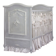 Cherubini Crib Finish: Washed Powder Blue