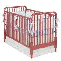 Jenny Lind Crib Finish: Metallic Cranberry Mist