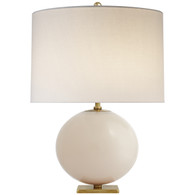 Elsie Table Lamp Finish: Blush