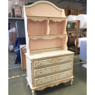 French Wide Chest  with  Hutch