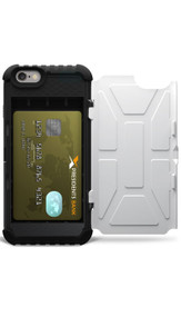 UAG Navigator Trooper Card Wallet Case iPhone 6/6S - White