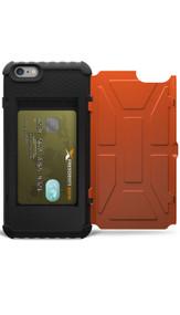 UAG Rust Trooper Card Wallet Case iPhone 6+/6S+ Plus - Orange