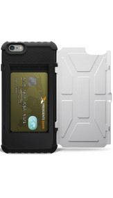 UAG Navigator Trooper Card Wallet Case iPhone 6+/6S+ Plus - White