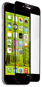 EFM Impact Edge Tempered Screen Armour iPhone 6/6S - Clear/Black Frame