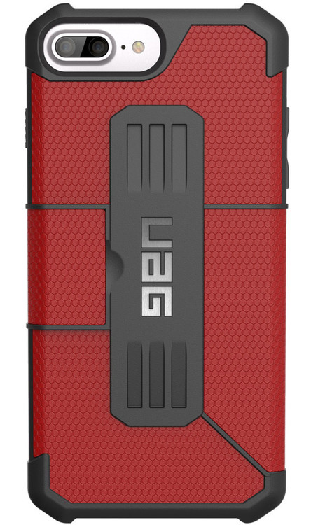UAG Metropolis Folio Wallet Case iPhone 7+ Plus - Magma