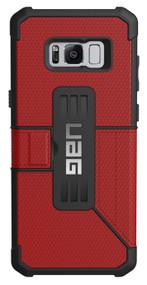 UAG Metropolis Folio Wallet Case Samsung Galaxy S8+ Plus - Magma