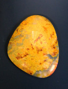 Mustard Jasper(Indonesia) 40x34 mm  60 cts MJ1a
