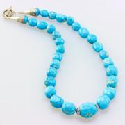 Sleeping Beauty  Necklace w/SS Clasp -SBR6-201)